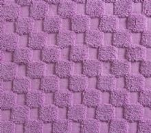 Luxurious linenHall, 850gsm 100% Cotton Reversible Bath Mat in Heather